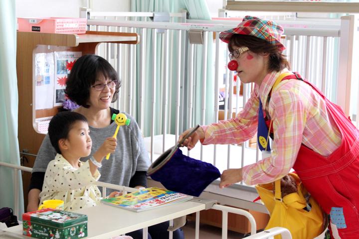 子ども思いの森 子ども思い応援プロジェクト2017 『日本ホスピタル・クラウン協会』へ30 万円を寄付