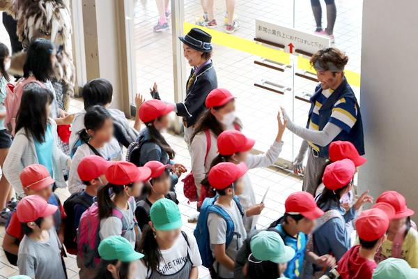 2子ども思いの森 子ども思い応援プロジェクト2017 「こころの劇場」の静岡県協賛企業 子どもたちの様子