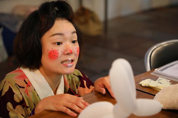 子ども思いの森 イベント 夜店市 バルーンアート